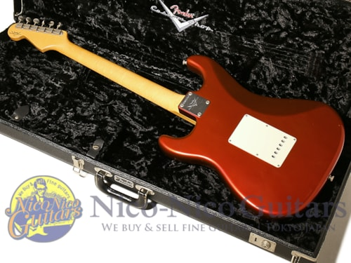 2012 Fender Custom Shop TeamBuilt 1961 Stratocaster Closet Classic Candy Apple Red