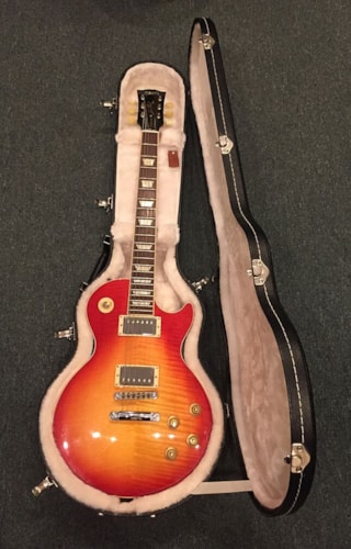2012 Gibson Brands Les Paul Classic Plus Heritage Cherry Sunburst, Excellent, Original Hard