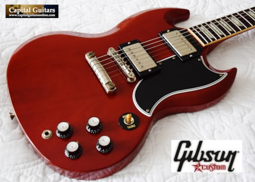 2012 Gibson Custom '60 SG Standard VOS, Wolfetone Legends, RS Wiring 60's Cherry