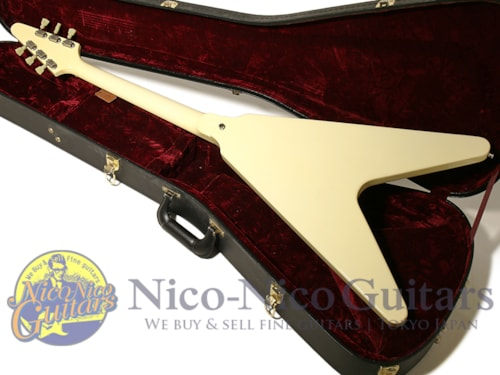 2012 Gibson Custom Shop Historic Collection 1967 Flying V VOS White
