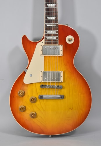 2012 Gibson Custom Shop R8 Les Paul Standard SunBurst Finish Lefty Electric Guitar w/OHSC