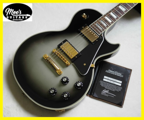 2012 Gibson Les Paul Custom Silver Burst
