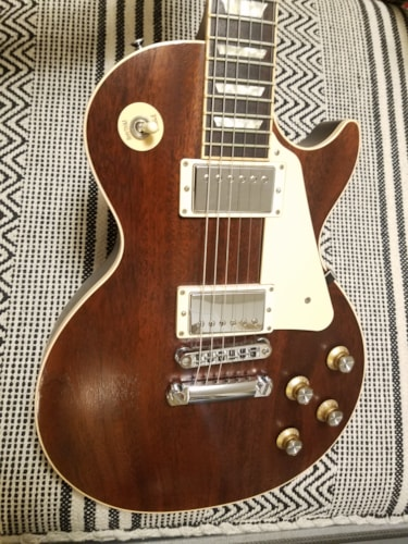 2012 Gibson Les Paul Traditional Mahogany Satin  Worn Brown