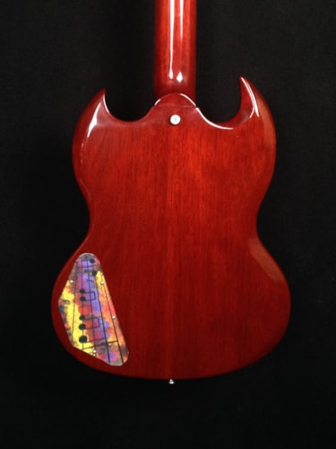 2012 Gibson SG Stnadard 50th Anniversery with Lyre  Cherry, Very Good, Hard, $999.00