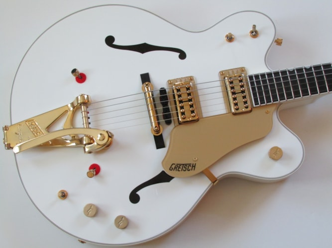2012 Gretsch Country Gentleman G6122-1962T-TV Limited Edition White, Mint, Original Hard, Call For Price!