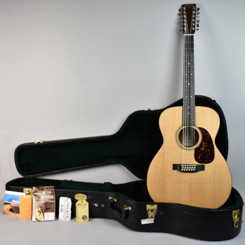 2012 Martin J12-16GT Natural, Excellent, Original Hard