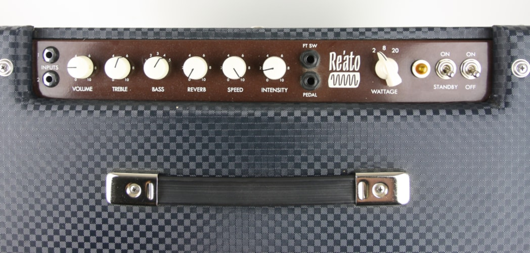 2012 Reason Re'ato Amp Black Checkerboard Tolex, Near Mint