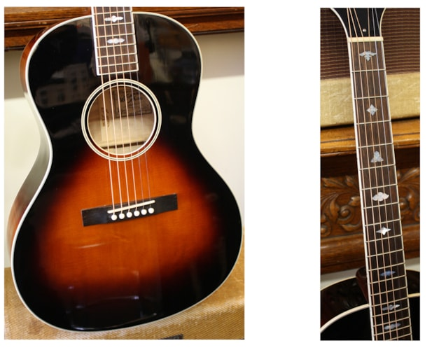 2012 Recording King RNJ25 Nick Lucas style Sunburst, Brand New, Hard