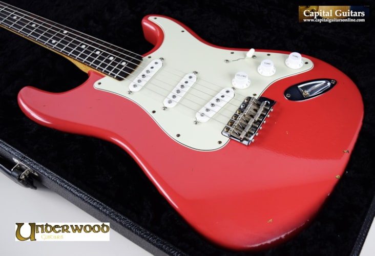 ~2013 Chad Underwood S Style Build for Eddie Martinez Faded Fiesta Red