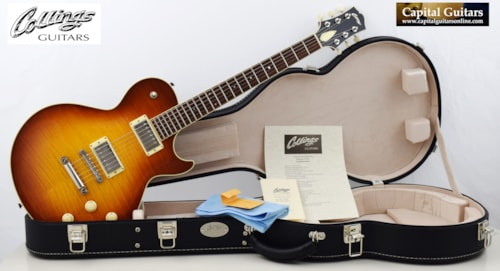 2013 Collings City Limits Deluxe Ice Tea Burst, Lollars, Madagascar RW