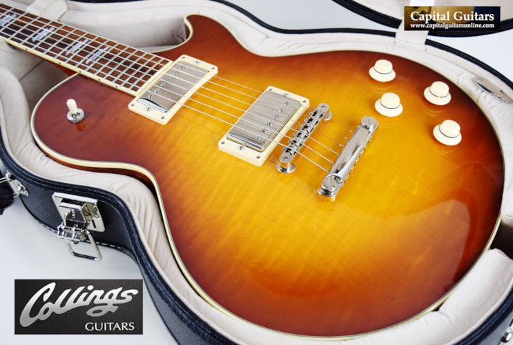 2013 Collings City Limits Deluxe Iced Tea Burst