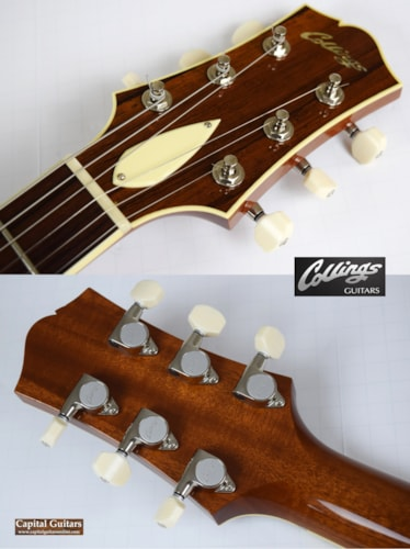 2013 Collings I-35 Deluxe Blonde, Near Mint, Original Hard, $4,599.00