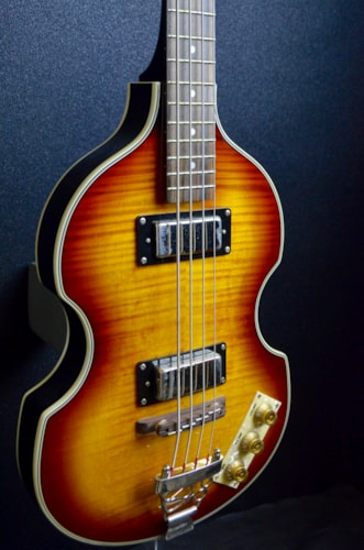 2013 Epiphone Viola Sunburst, Excellent, Original Hard