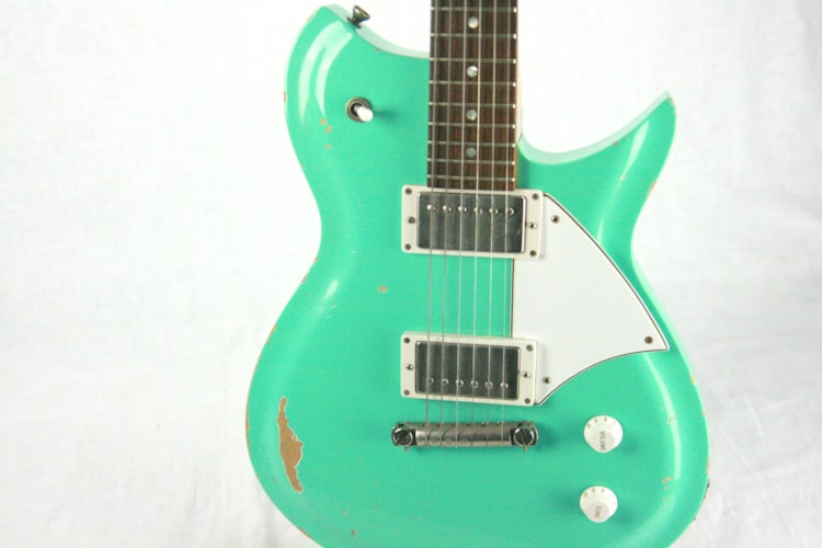 2013 Fano Alt de Facto RB6 AGED Sea Foam Green! Humbucker Model BEST ERA!