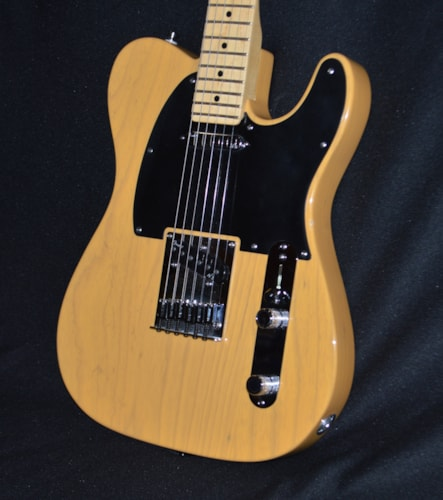 2013 Fender American Deluxe Telecaster Butterscotch Blonde, Excellent, Hard, $1,250.00