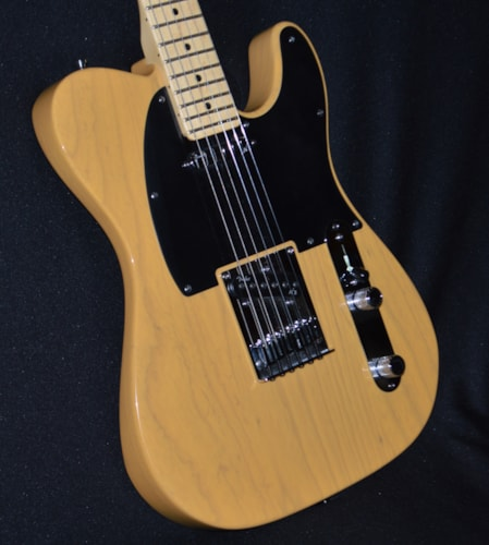 2013 Fender American Deluxe Telecaster Butterscotch Blonde, Excellent, Hard