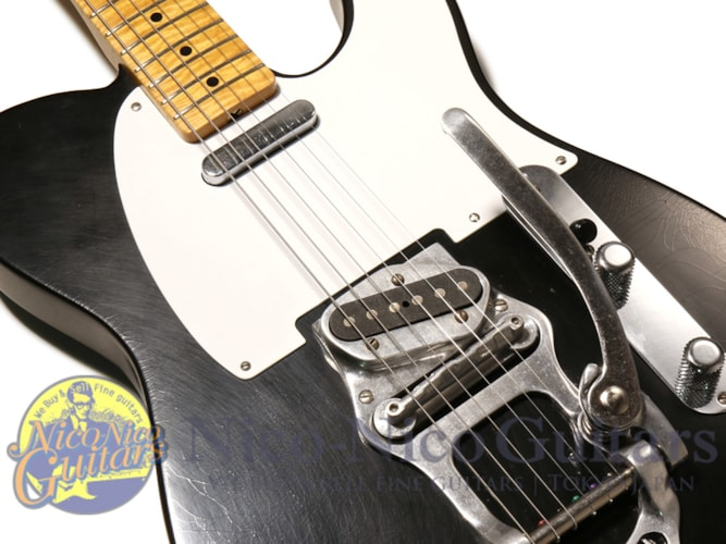 2013 Fender Custom Shop 52 Telecaster Bigsby Closet Classic by Dale W Black, Excellent, Original Hard, $4,160.00