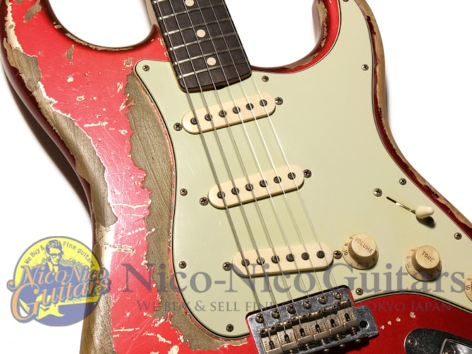 2013 Fender Custom Shop Masterbuilt '64 Stratocaster Heavy Relic by Jason Smith Candy Apple Red, Excellent, Original Hard, Call For Price!