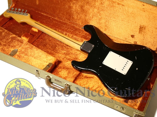 2013 Fender Custom Shop MBS 1956 Stratocaster Relic Master Built by Todd Krause Black