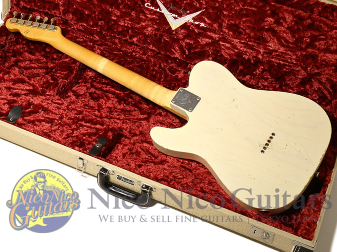 2013 Fender Custom Shop MBS '59 Telecaster Relic Master Built by Jason Smith White Blonde
