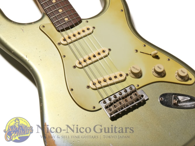 2013 Fender Custom Shop MBS '61 Stratocaster Relic by John Cruz Ice Blue Metallic, Excellent, Original Hard, Call For Price!