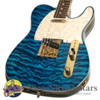 2013 Fender Custom Shop MBS Telecaster NOS Quilt Maple 2 Piece Body Master Built by