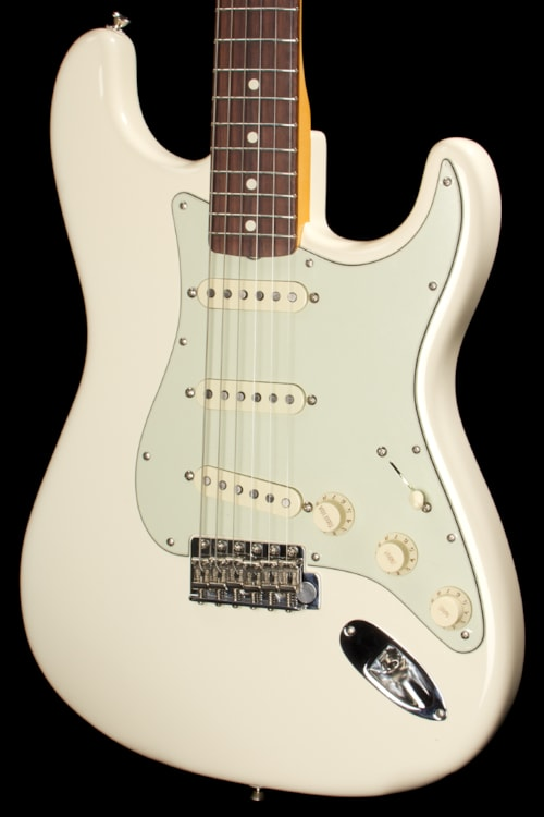2013 fender john mayer stratocaster olympic white guitars electric solid body rudys music. Black Bedroom Furniture Sets. Home Design Ideas