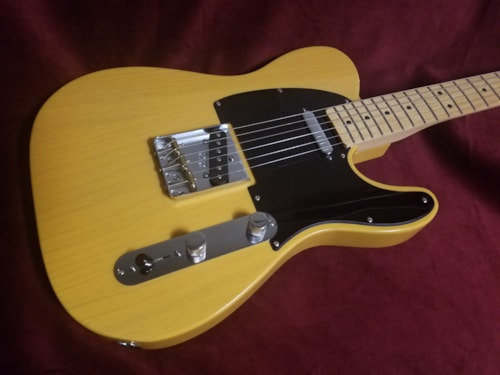 2013 fender special edition deluxe ash telecaster butterscotch guitars electric solid body. Black Bedroom Furniture Sets. Home Design Ideas