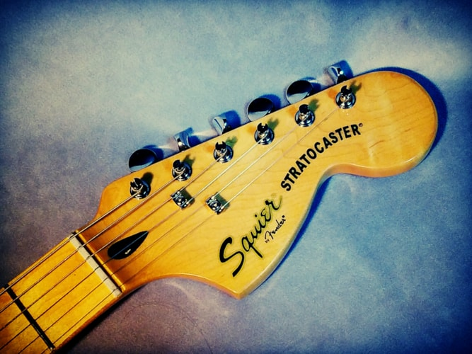 2013 Fender Squier Vintage Modified Stratocaster Black, Very Good, GigBag, $249.00