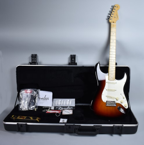 2013 Fender® Stratocaster® Sunburst, Excellent, Original Hard, $875.00
