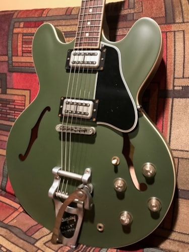 2013 Gibson Chris Cornell olive drab, Brand New, Original Hard, $4,550.00