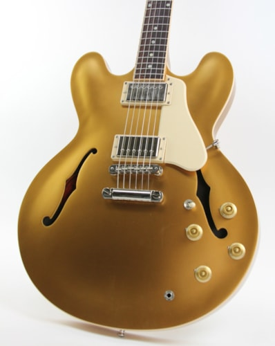 2013 Gibson ES-335 Dot Plain Gold Top, Excellent, Original Hard, $2,499.00