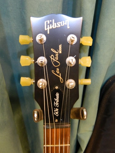 2013 Gibson Les Paul 50's Tribute Worn Vintage Sunburst, Excellent, Original Hard