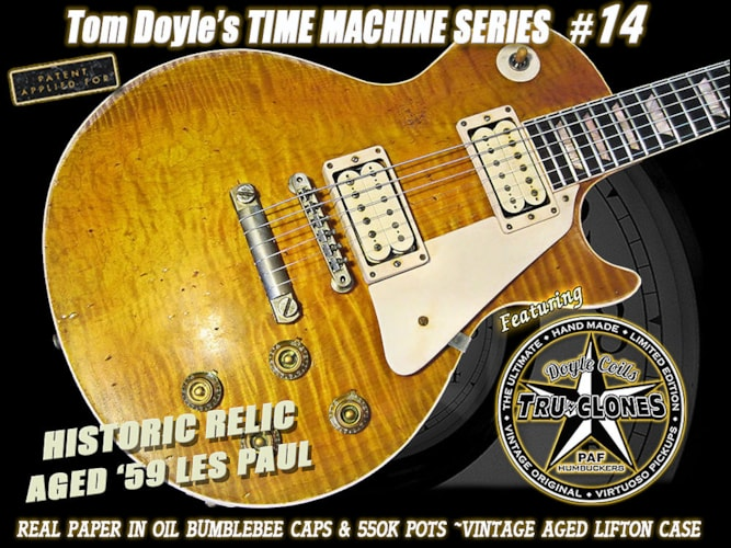 "2013 Gibson Les Paul '59 Reissue ~Tom Doyle ""Time Machine"" #14"