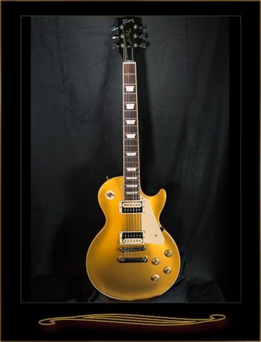 2013 Gibson Les Paul Traditional Pro Goldtop, Excellent, Hard, $1,299.00