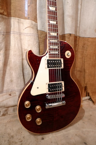2013 Gibson Les Paul Traditional Pro II Wine Red