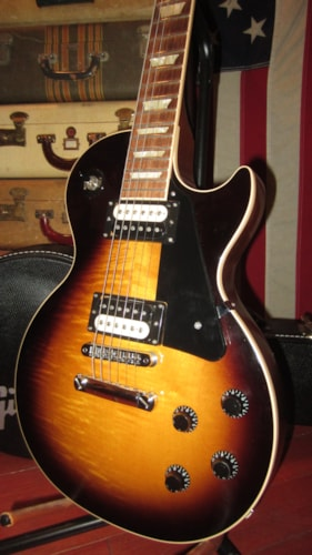 2013 Gibson Les Paul Traditional Pro II Sunburst, Excellent, Original Hard, $1,795.00