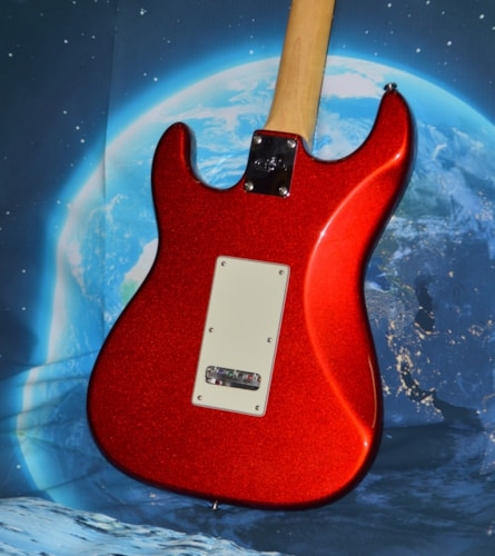 2013 G&L Legacy Candy Apple Red Metallic