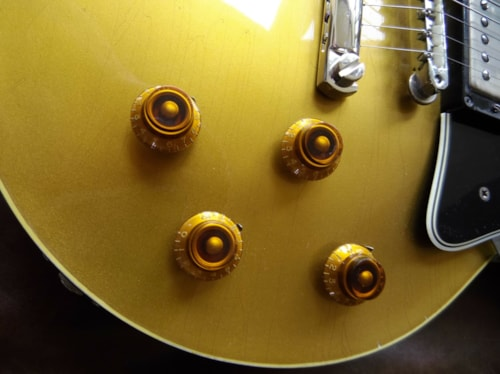 2013 Gord Miller/Adam Johnson 1957 Les Paul Goldtop Goldtop, Excellent, Call For Price!