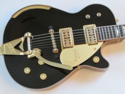 2013 Gretsch CS Masterbuilt Stephen Stern Black Penguin #1 of 1