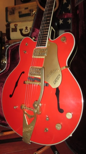 2013 Gretsch Custom Shop Country Gentleman G-6122-CST Stephen Stern Firebird Red, Excellent, Original Hard, $5,795.00