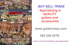 2013 Guitar Crazy Buy Sell Trade art