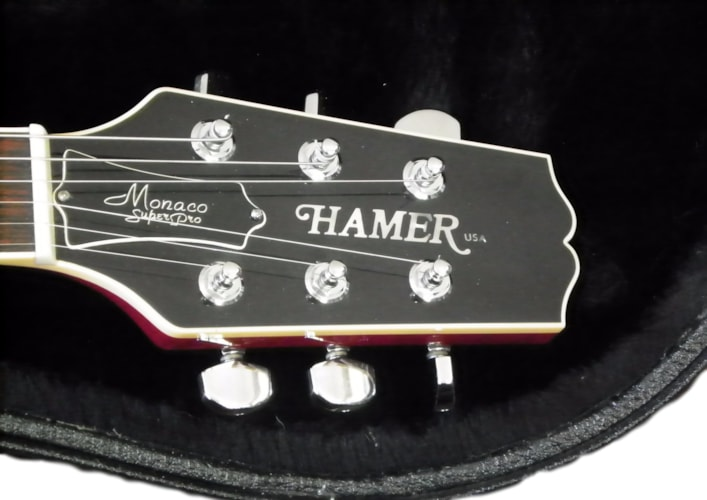 2013 Hamer USA Monaco SuperPro Sunburst, Excellent, Hard