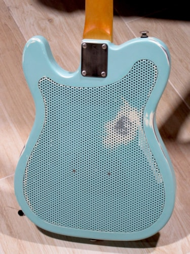 2013 James Trussart Steelcaster Seafoam Green Maple Neck