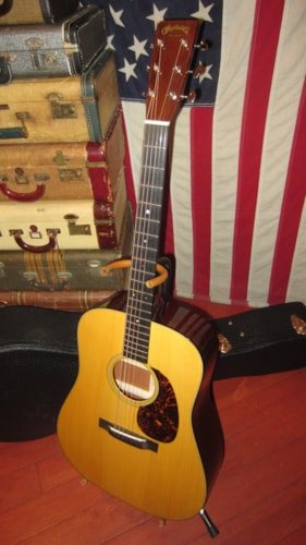 2013 Martin D-18 Authentic 1939 Natural, Excellent, Original Hard, $3,995.00