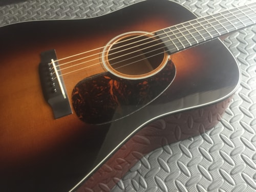 2013 Martin D-18 Golden Era Beautiful Shaded Sunburst Nice Tobacco Sunburst, Mint, Original Hard