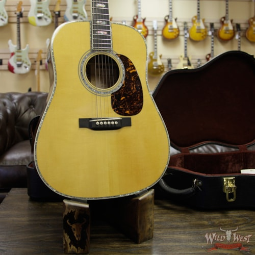 2013 Martin 2013 Martin Limited Edition D-45 Commemorative #47 of 91 Adirondack Spruce with Madagascar Rosewood Electric-Acoustic Aging Toner