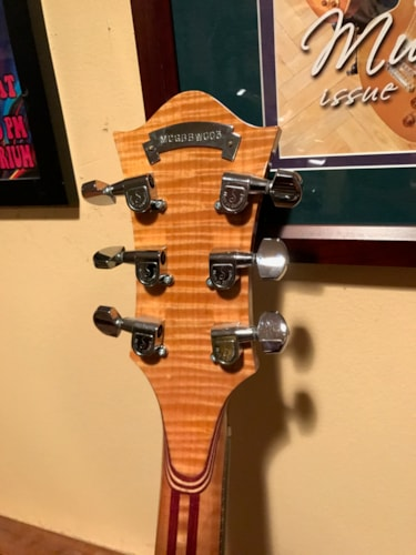 2013 Moriarty Guitars Wolf Excellent, Original Hard, $6,995.00
