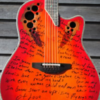 2013 Ovation Melissa Etheridge owned