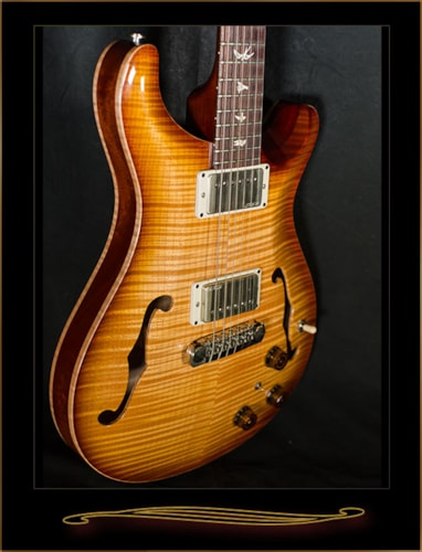 2013 PRS Hollowbody II Old Antique Natural, Mint, Hard, $3,095.00